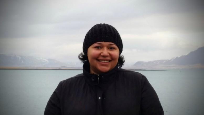 Nadia in Iceland